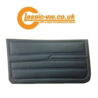 Mk1 Golf Caddy Front Door Card Set. Black